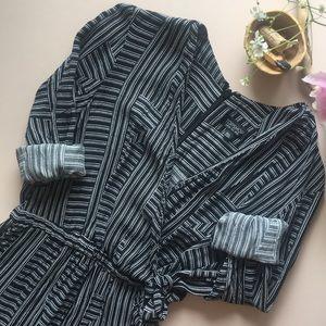 top shop geometric jumper